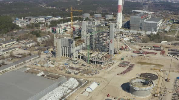Thumbnail for Large Scale Construction of Modern Trash to Energy Type Power Plant