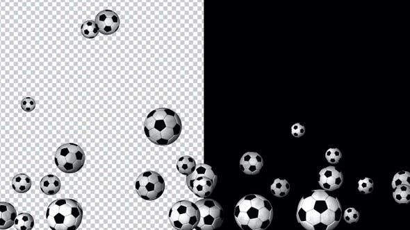 Thumbnail for Falling Soccer Balls