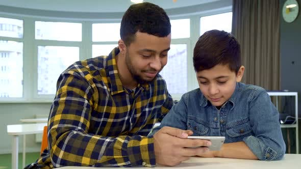 Thumbnail for Boy Flips on Father's Smartphone
