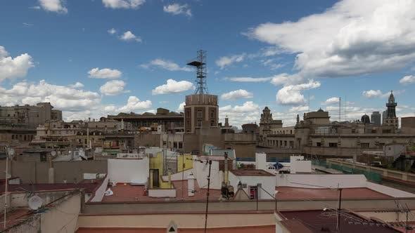 Thumbnail for barcelona rooftop urban city spain catalonia coast architecture