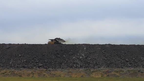 A Huge Hill of Coal