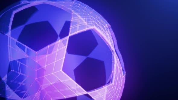Thumbnail for Soccer Ball Stars Loopable Rotation