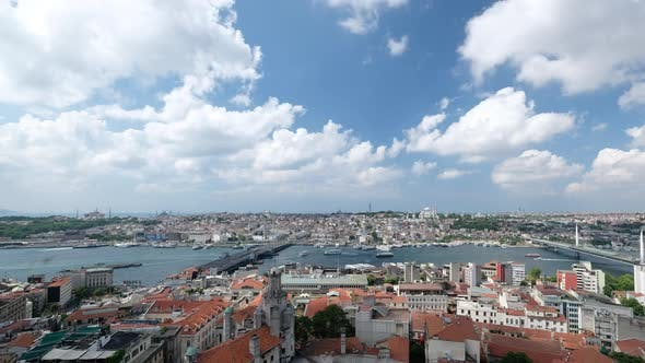 Istanbul City Time Lapse