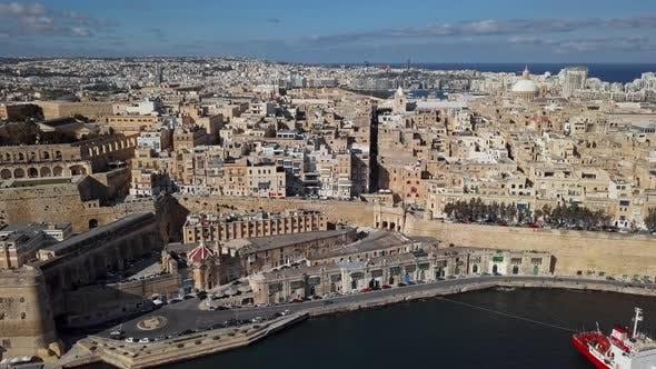 Thumbnail for Aerial View of Valletta, Malta