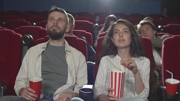 Thumbnail for People Watching Movie in Cinema