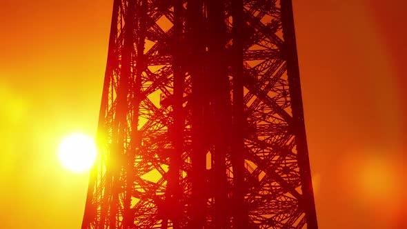 Thumbnail for Paris Eiffel Tower Sunrise