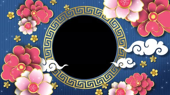 Thumbnail for Chinese New Year Frame 01 4k
