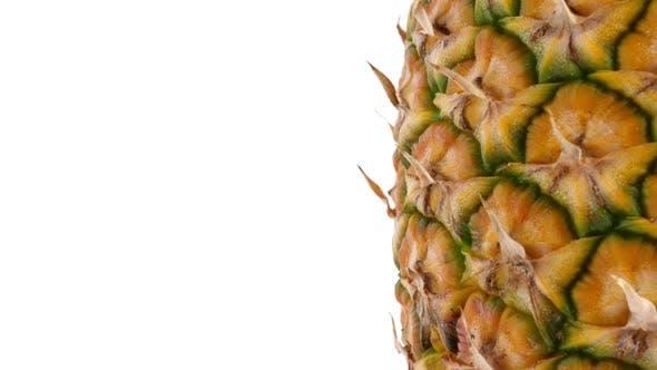Pineapple Fruit, Closeup