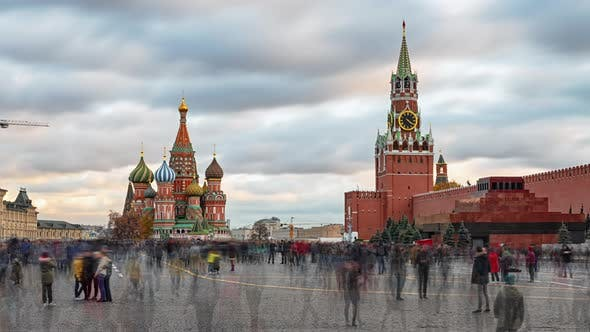 Thumbnail for Red Square Timelapse, Moscow