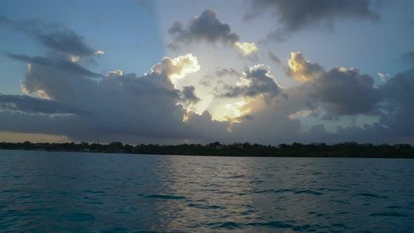 Thumbnail for Sunset at Bacalar Lagoon Mexico