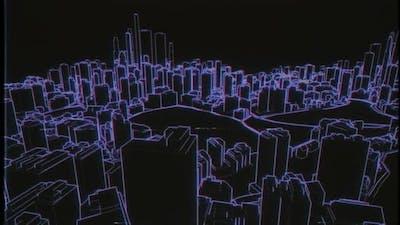 Vhs City Hologram