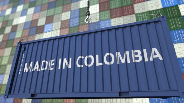 Thumbnail for Container with MADE IN COLOMBIA Caption