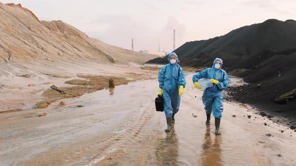 Thumbnail for Ecology Inspection Of Nuclear Pollution In Town