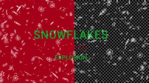 SnowFlakes Explosion