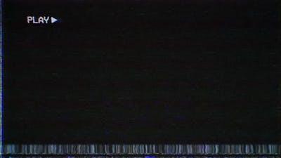 VHS tape cassette VCR Play Overlay