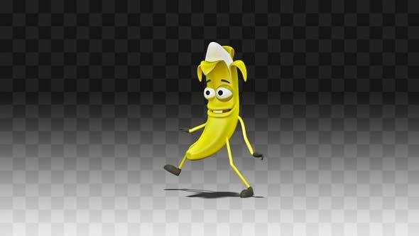 Banana Dancing Funny And Groovy Dance