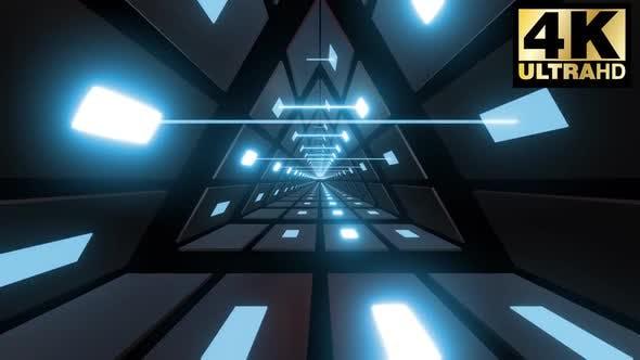 Triangle Light   Neon Shape Tunnel Pack 4k