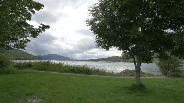 Thumbnail for A path along a lake on the Isle of Skye