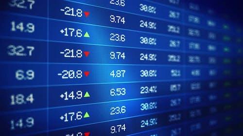 Stock Exchange Financial Data