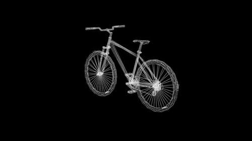 Wireframe Bicycles for long distance sports