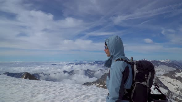 Thumbnail for Mountaineer in the Alps
