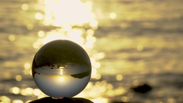 Thumbnail for View of the Sea Through a Glass Sphere