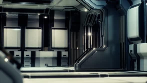 Thumbnail for Futuristische Sci Fi Raumschiff Innenraum