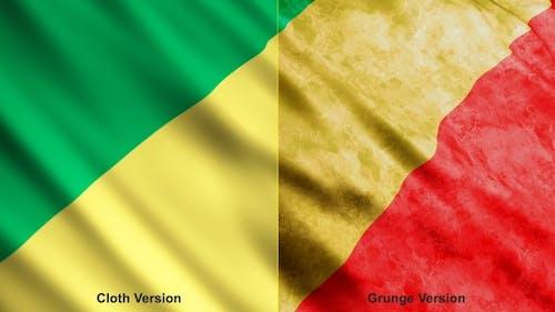 Republic Of The Congo Flags
