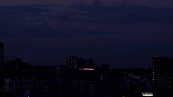 Thumbnail for Beautiful Firework at Evening Sky
