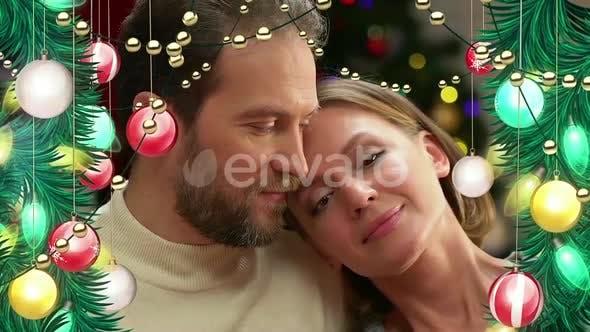 Cover Image for Christmas Ball Frame Alpha 01