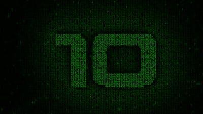 Matrix Countdown