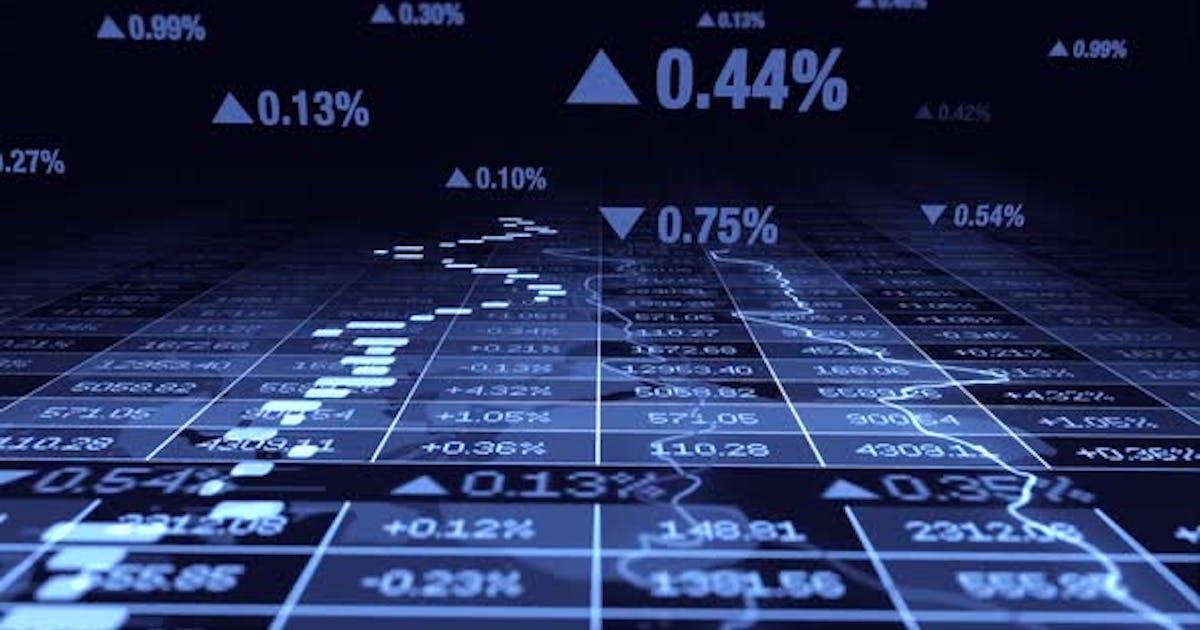 Financial Sales Numbers Data Statistic