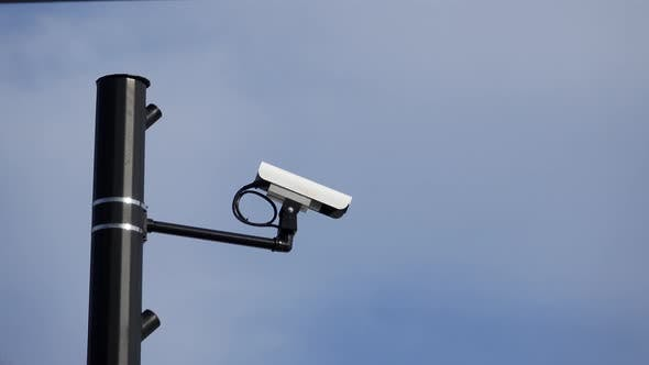 Thumbnail for Quick Pan to a Surveillance Camera