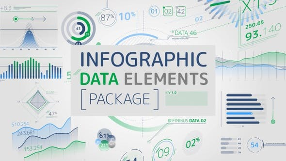 Infographic Data Elements Pack