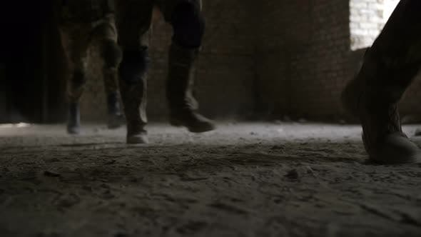 Thumbnail for Army Rangers in Action During Military Operation