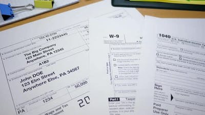 Different Taxes Forms for Tax Payments