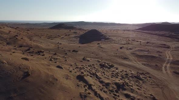 Salzpyramide, Atacama-Wüste, Chile.