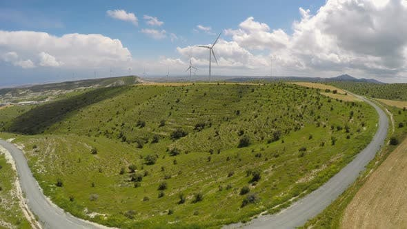 Thumbnail for Large Windmills Providing Energy to Entire Cities, Copying With Power Outages