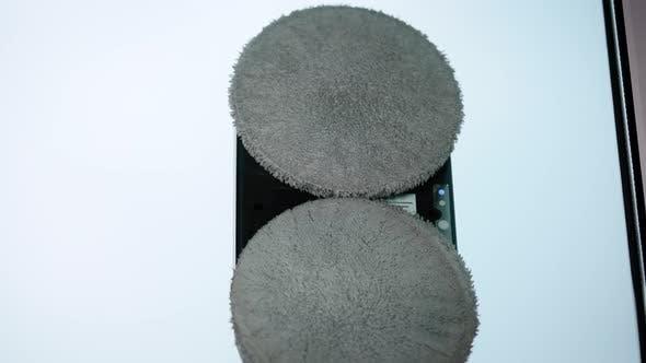Window Cleaner Robot Closeup