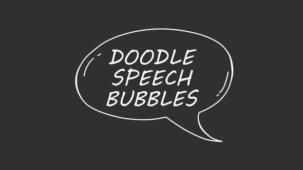 Thumbnail for Doodle Speech Bubbles
