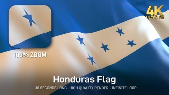 Thumbnail for Honduras Flag - 4K