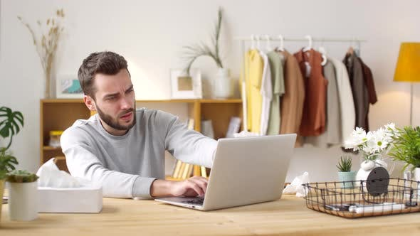 Thumbnail for Sick Man Online Shopping