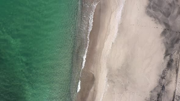 Thumbnail for Aerial view from the air to the beach