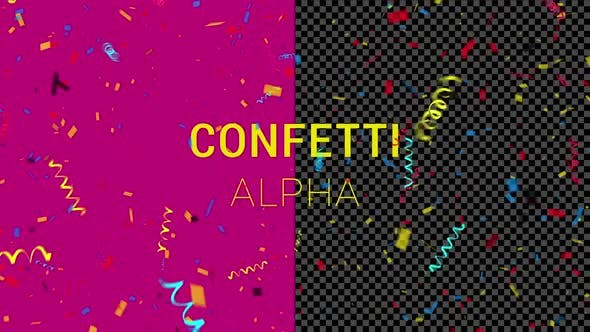 Thumbnail for Colorful Confetti Explosion