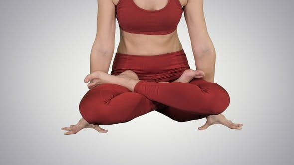 Thumbnail for Sporty attractive woman practicing yoga standing in Scale