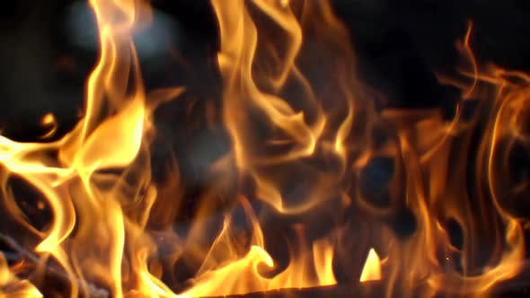 Thumbnail for Moving Burning Pattern As Background