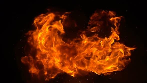 Thumbnail for Fireballs Rising In The Air