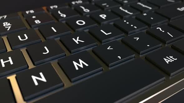 Thumbnail for Computertastatur und Jack-in-the-Box BREAKDOWN Meldung