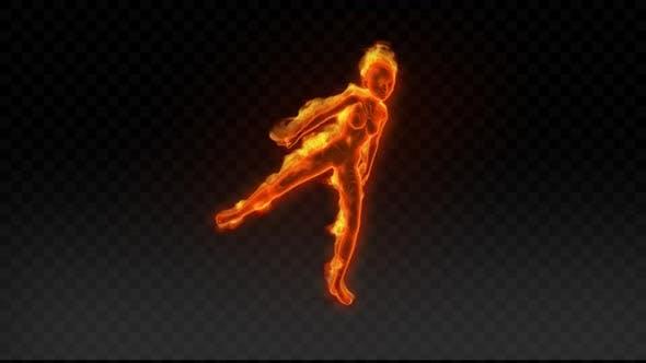 Thumbnail for Fiery Girl Dance 4