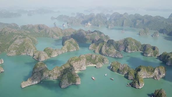 Thumbnail for Aerial View of Ha Long Bay